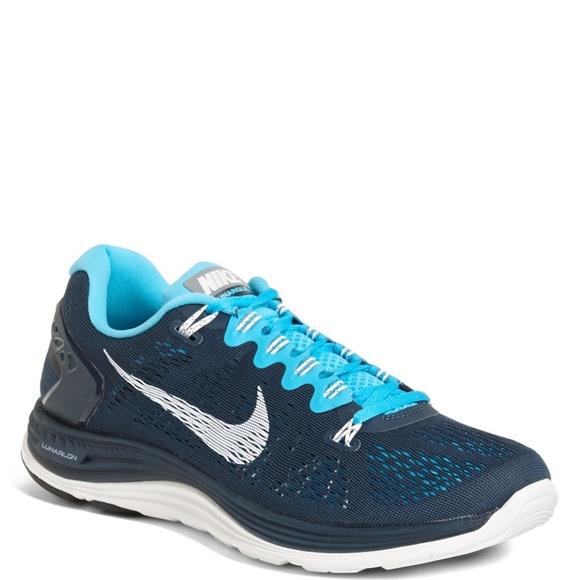 size 40 d80b4 91399 NEAR MINT Nike lunarglide 5 men s size 13 navy